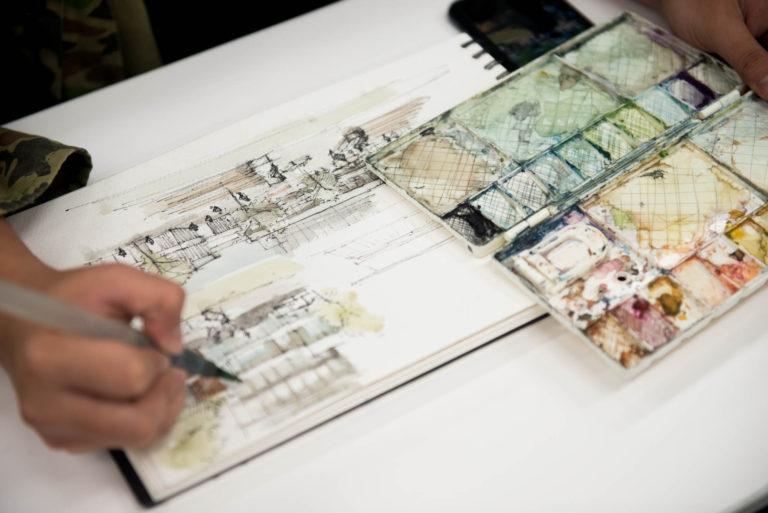 Sketch Workshop with Chulalongkorn University
