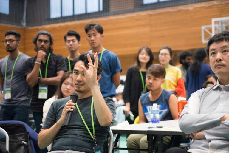 Arcasia Student Jamboree 2018 in Tokyo, hosted by IAUD and JIA
