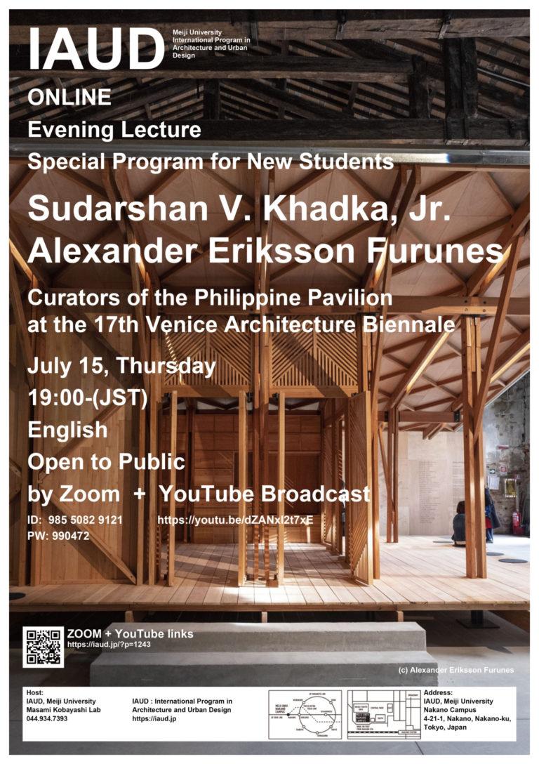 Sudarshan V. Khadka, Jr. and Alexander Eriksson Furunes I-AUD Meiji University